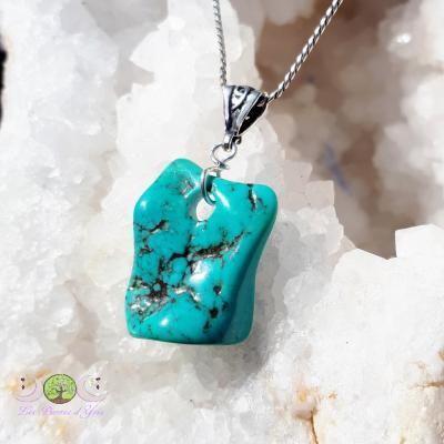 Pendentif Turquoise naturelle