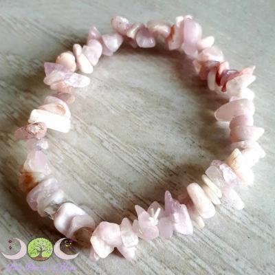 Bracelet baroque Kunzite