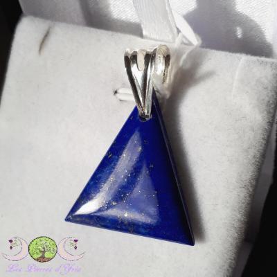 Lapis-Lazuli & bélière argent 925