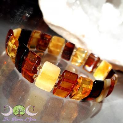 Bracelet Ambre mixte naturelle