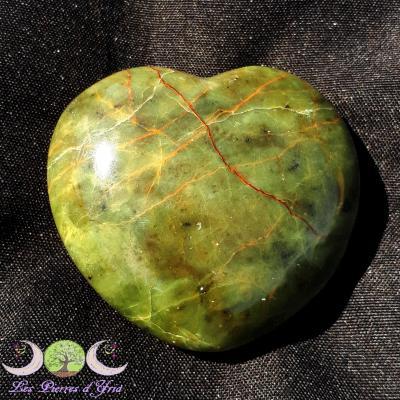 Coeur Opale verte [Madagascar] réf1
