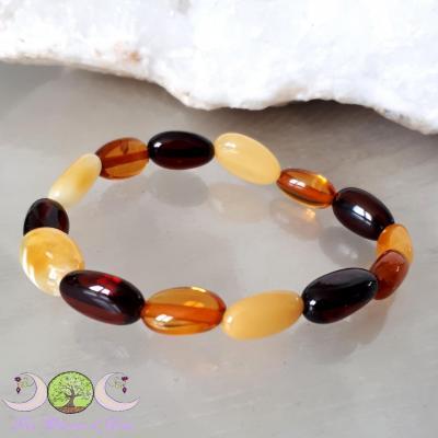 Bracelet Bébé Ambre mixte naturelle [Baltique]