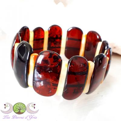 Bracelet Ambre mixte naturelle [Baltique]