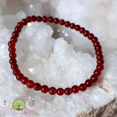 Bracelet Cornaline [Perles 4mm]