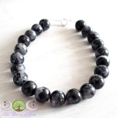 "Bracelet Gabbro ""Merlinite Mystique"""