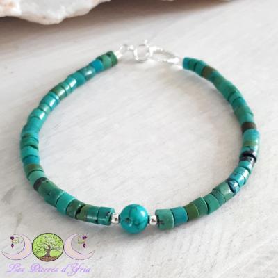 Bracelet Turquoise naturelle