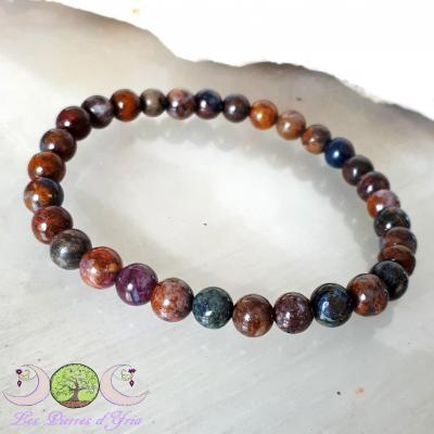 Piétersite - Bracelet perles 6mm