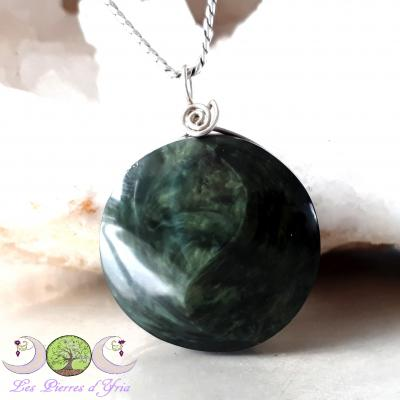 Pendentif obsidienne Mentogochol [Manta Huichol]
