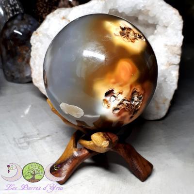 Agate - Sphère [Madagascar]
