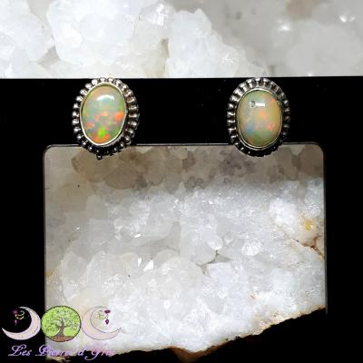 Boucles d'oreilles Opale Welo