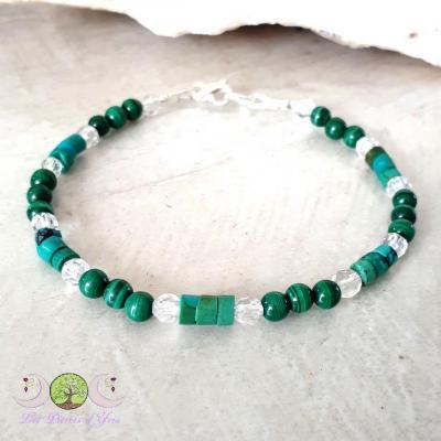 Bracelet Malachite & Turquoise