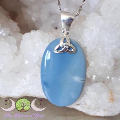 Pendentif Opale Bleue [Pérou]