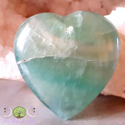 Coeur Fluorite verte [Madagascar]
