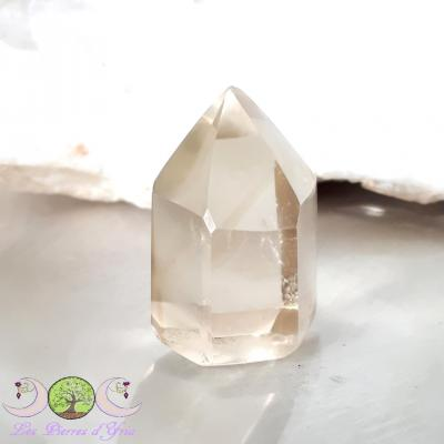 Pointe polie de Citrine naturelle - 20g