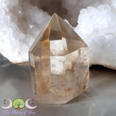 Pointe polie de Citrine naturelle - 86g