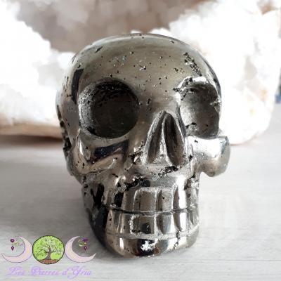 Crâne Pyrite