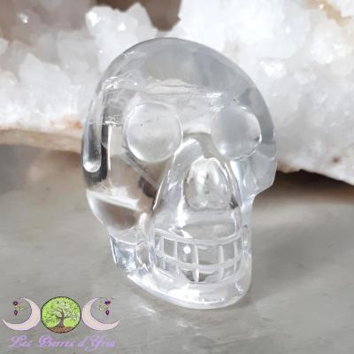 Crâne Cristal de Roche - 98g