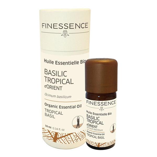 Finessence huile essentielle de basilic tropical d orient bio