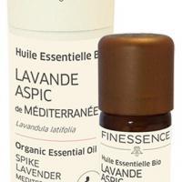 Finessence huile essentielle lavande aspic bio 10ml