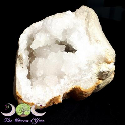 Géode de Cristal de Roche
