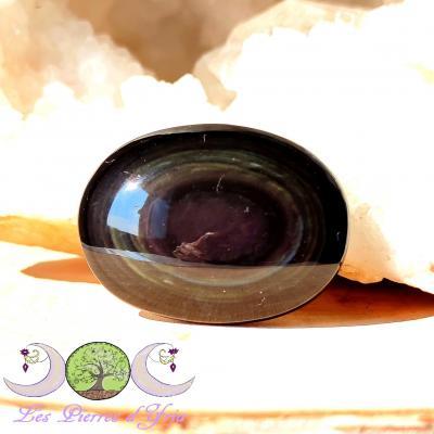 Galet Obsidienne Oeil céleste