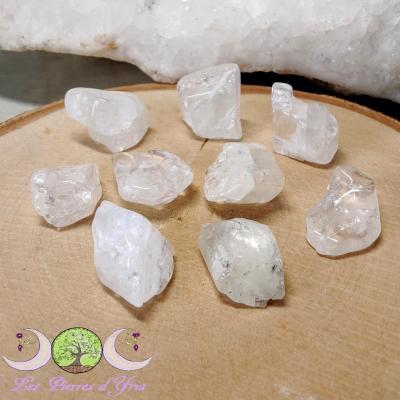 Pétalite [pierre roulée]