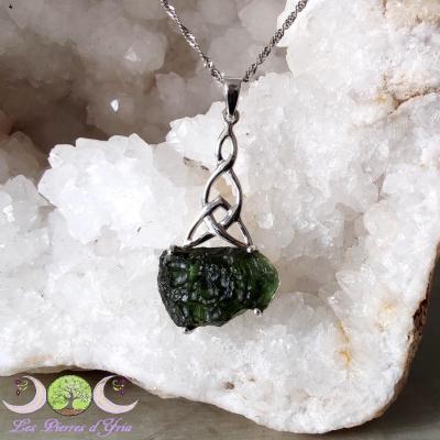 Pendentif Celtique Moldavite [Chlum]