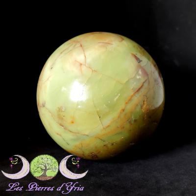 Sphère Opale verte [Madagascar]