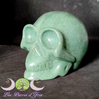 Crâne en Jade