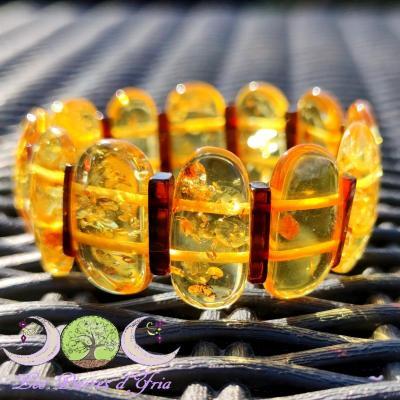 Bracelet Ambre mixte naturelle [Baltique]