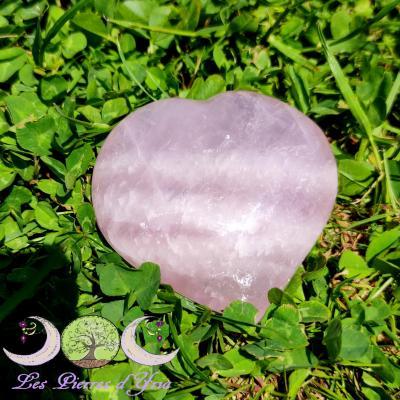 Coeur quartz rose [Madagascar]