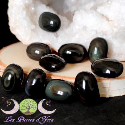 Obsidienne Oeil céleste [petit galet]