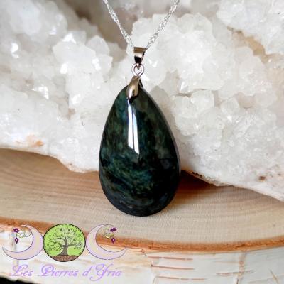 Pendentif obsidienne Mentogochol [Manta Huichol] #27