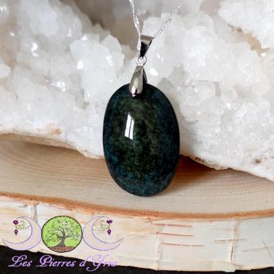 Pendentif obsidienne Mentogochol [Manta Huichol] #28