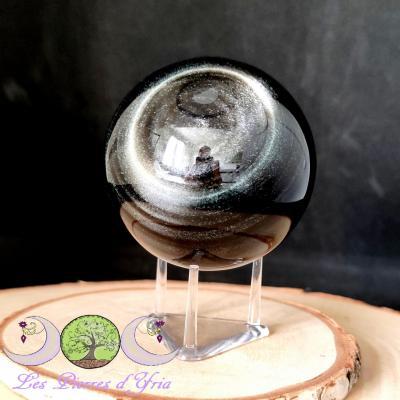 Obsidienne Argentée [sphère]#1