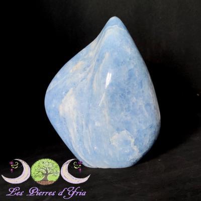 Calcite bleue brute [Forme libre]