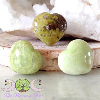 Coeur Opale verte [Madagascar]