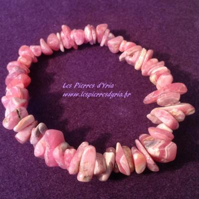 Bracelet Baroque Rhodochrosite