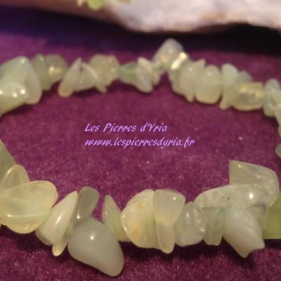 Bracelet Baroque Jade naturelle
