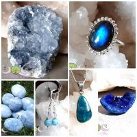 Les pierres bleues