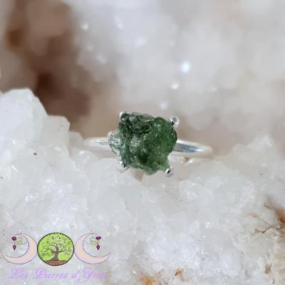 Bague Moldavite [Chlum]