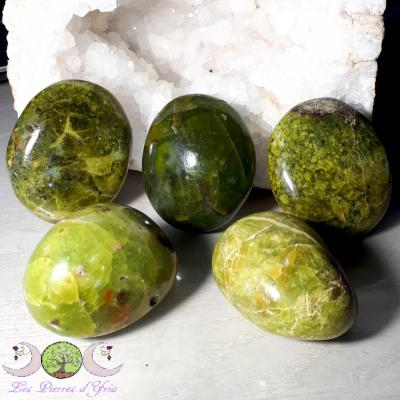 Opale verte [Madagascar] - Galet 90 à 110g