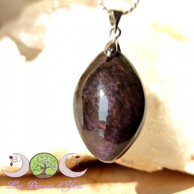 Pendentif obsidienne Mentogochol [Manta Huichol] #31