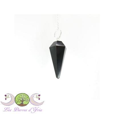 Pendule Obsidienne noire