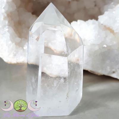 Pointe polie de Cristal de Roche - 139g