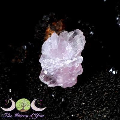 Quartz rose cristallisé [RARE]