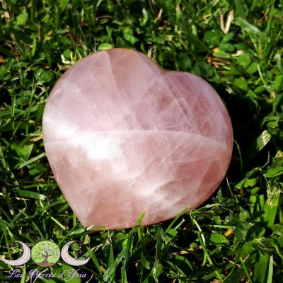 Coeur quartz rose [Madagascar]