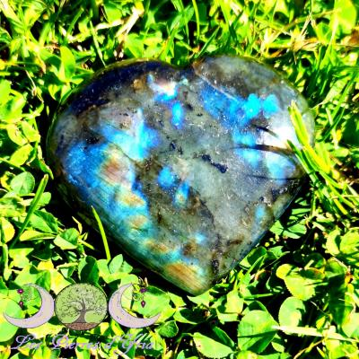 Coeur Labradorite #11