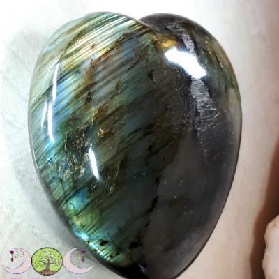 Coeur Labradorite - 213g