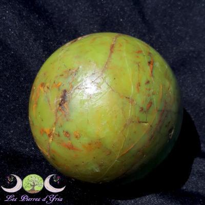 Sphère Opale verte [Madagascar] réf2
